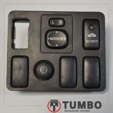 Acabamento com botões espelho alarme Hilux 05/11 3.0 Diesel