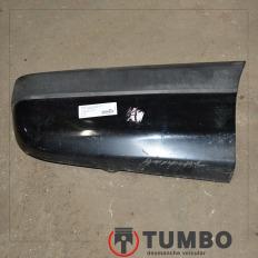 Acabamento lateral direito do parachoque traseiro da Blazer 2.8