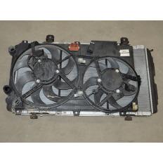 Kit radiador eletroventilador condensador Ducato Jumper 2.3