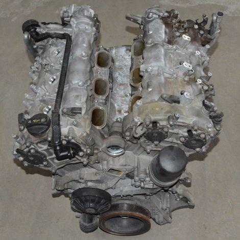 Motor parcial da Mercedes E350 V6 2011 Aut.