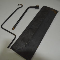 Chave de roda e chave do macaco do Corolla 2.0 2014/...