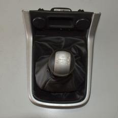 Alavanca de câmbio manual com coifa da S10 2012/... LT 2.4 Flex
