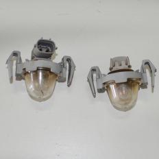 luz de placa parachoque traseiro da Hilux 2012/... (par)