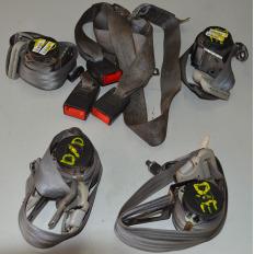 Kit cintos de segurança da Hilux 3.0 Diesel 2012/... Manual