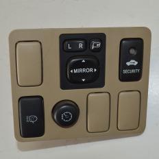 Comando botão do farol com farolete da Hilux SW4 2012/... 3.0