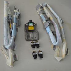 Kit airbag cortina lateral da Hilux SW4 2012/... 3.0