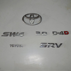 Logo símbolo da tampa traseira da Hilux SW4 2012/... 3.0