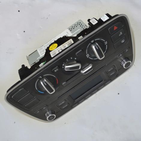 Rádio com comando de ar 15B035156B do VW UP 1.0 TSI