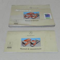 Manual do proprietário usado da Sprinter 313 CDI 2008