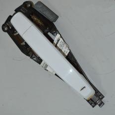 Maçaneta lado direito branca da S10 LT 2012/... (Com detalhe)
