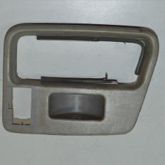 Moldura da trava da porta traseira direita da S10 até 2000