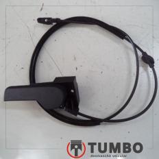 Puxador do capô com espia do VW UP 1.0 TSI