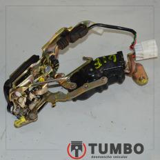 Fechadura elétrica da porta dianteira esquerda da HIilux 3.0 turbinada até 2005