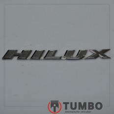 Letras HILUX da porta da HIilux 3.0 turbinada até 2005