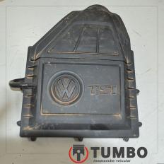 Tampa do filtro de ar com detalhes do VW UP 1.0 TSI