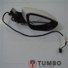 Retrovisor elétrico dianteiro direito sem lente do Jetta 2.0 2012