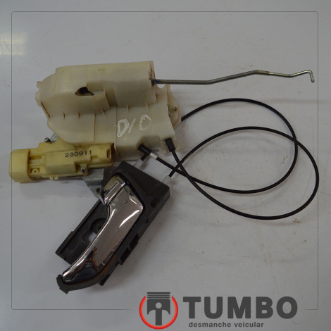Fechadura da porta dianteira direita com maçaneta da S10 2.4 LTZ 2012/...