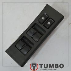 Botão do vidro elétrico dianteiro esquerdo da S10 2.4 LTZ 2012/...