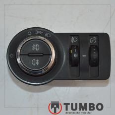 Botão comando do farol com farolete da S10 2.4 LTZ 2012/...
