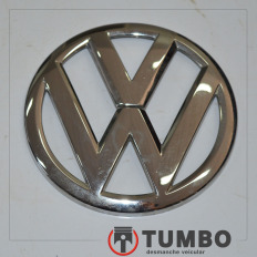 Simbolo VOLKSWAGEM da tampa traseira do UP Move 1.0 TSI 2017