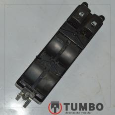 Botão comando do vidro elétrico dianteiro esquerdo da S10 LTZ 2.4 Flex 2012/2015