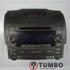 Rádio original com detalhes da S10 LTZ 2.4 Flex 2012/2015