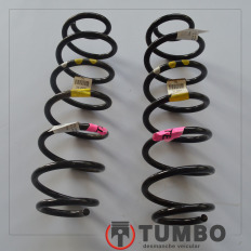 Par de molas traseiras do Ford KA 2013/... 1.5