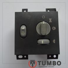 Botão comando do farol da S10 2001/2011