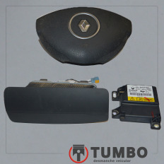 Kit airbag 240185588R do Sandero 1.0 2013