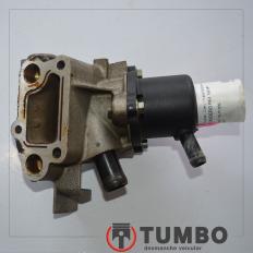 Carcaça e válvula termostática do Sandero 1.6 2014