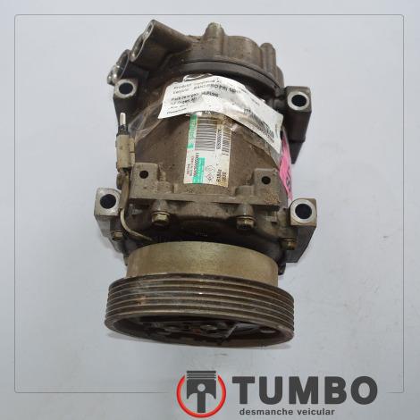 Compressor do ar condicionado do Sandero 1.0 2014