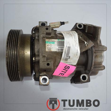 Compressor do ar condicionado do Sandero 1.6 2014