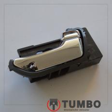 Maçaneta cromada interna direita da S10 LTZ 2012/...
