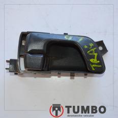 Maçaneta interna da porta traseira direita da Pajero TR4 Flex 4x4