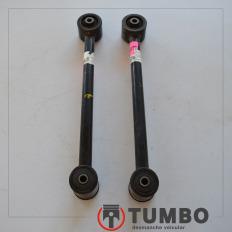 Barra tirante de suspensão traseira da Pajero TR4 Flex 4x4 (par)