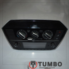 Rádio com comando do ar condicionado do VW UP 2018 TSI