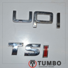 Emblema do VW UP 2018 TSI