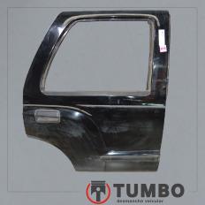 Porta traseira direita da Blazer 2000/2011 Preta