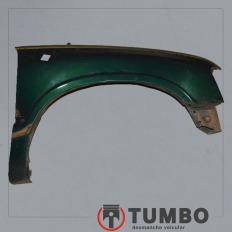 Paralama direito da S10 até 2000 Verde