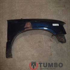 Paralama direito da S10 até 2000 Azul com detalhes