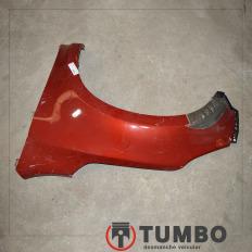 Paralama esquerdo da S10 2012/... recuperado vermelho