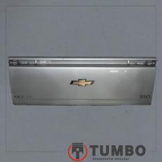 Tampa traseira da S10 2 portas 2012/... prata
