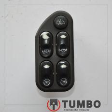 Botão do vidro dianteiro esquerdo da Ranger 3.0 Ano 05/12 com detalhes