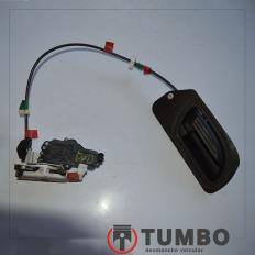 Fechadura elétrica dianteira direita com maçaneta da Ranger 3.0 Ano 05/12