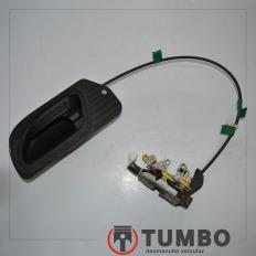Fechadura elétrica traseira esquerda com maçaneta da Ranger 3.0 Ano 05/12