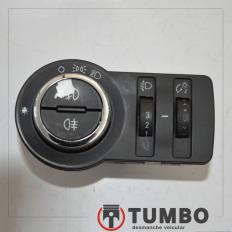 Botão do farol com detalhes da S10 2012/... LTZ 2.4 Flex
