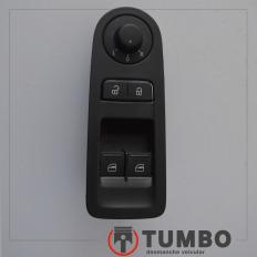 Botão do vidro dianteiro esquerdo do UP 1.0 2016/2017 TSI