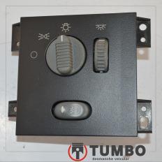 Comando chave de luz com farolete da S10 2001/2011