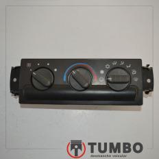 Comando do ar condicionado com detalhes da S10 2001/2011