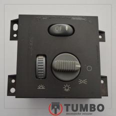 Botão chave de luz com farolete da S10 2001/2011